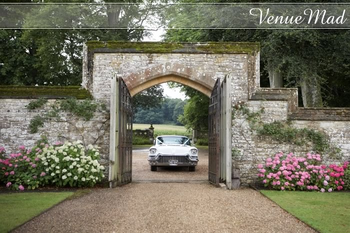American Wedding Car Athelhampton House