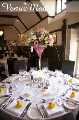 Athelhampton Wedding Reception Room Interior