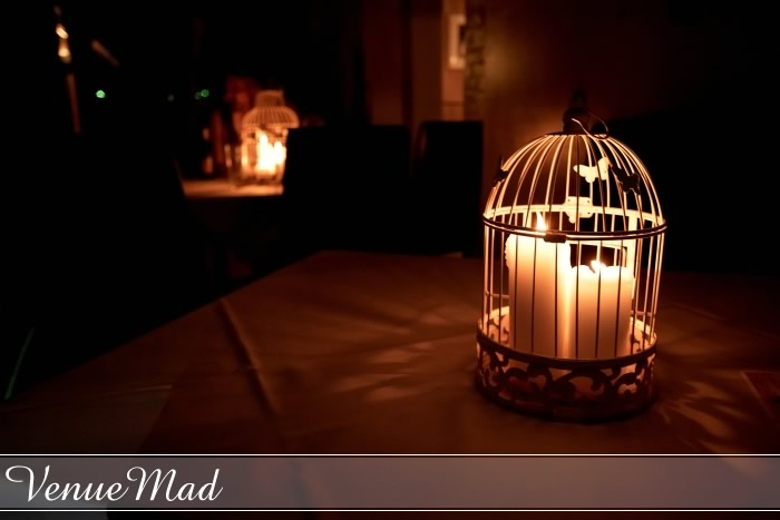 Birdcage Wedding Table Decorations With Candles