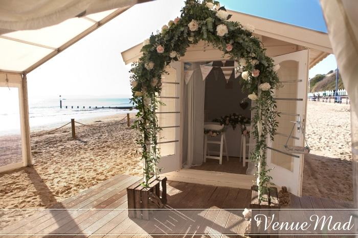 Weddings On The Sand In The UK Beach Weddings Bournmouth Dorset Wedding Venue