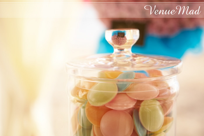 Wedding Details Mason Jars With Sweets