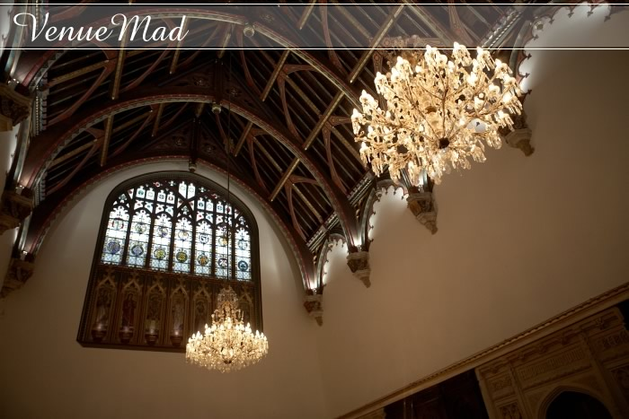 Amazing Chandeliers In Grand Hall