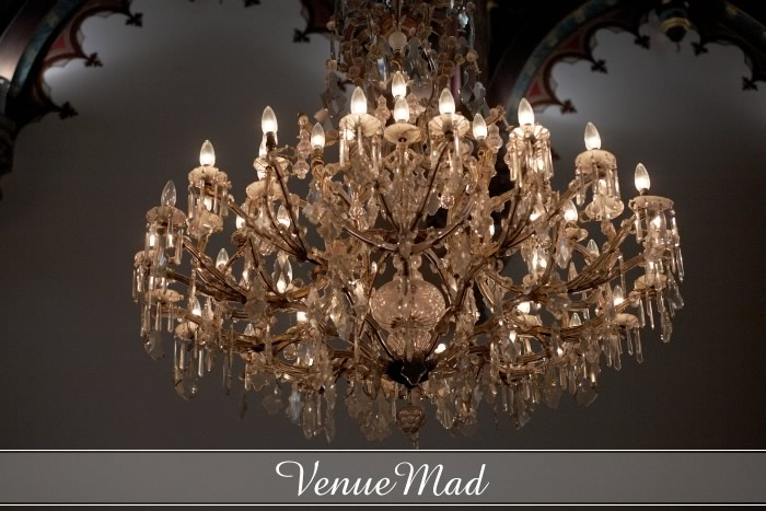 Beautiful Crystal Chandelier Very Ornate