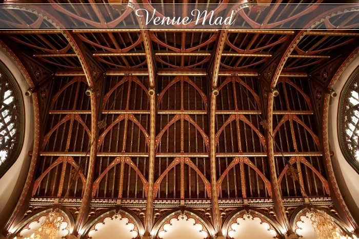 Grand Hall Canford School Vaulted Wooden Ceiling
