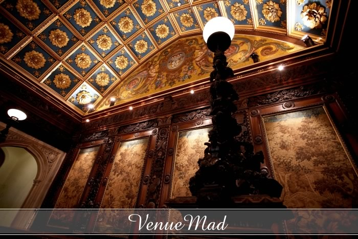 Stunning Historic Gold Leaf Ceilings With Decorative Panelling