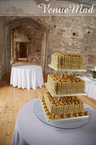 Ferrero Rocher Wedding Cake